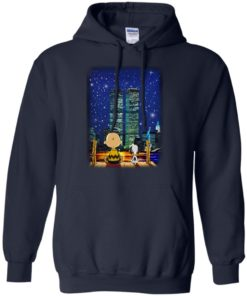 image 747 247x296px Snoopy and Charlie Brown World Trade Center 9/11 T Shirts, Hoodies, Tank