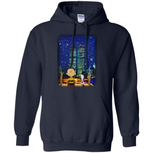image 747 490x490px Snoopy and Charlie Brown World Trade Center 9/11 T Shirts, Hoodies, Tank