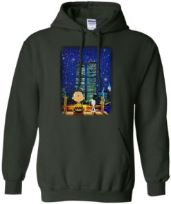 image 748 247x296px Snoopy and Charlie Brown World Trade Center 9/11 T Shirts, Hoodies, Tank