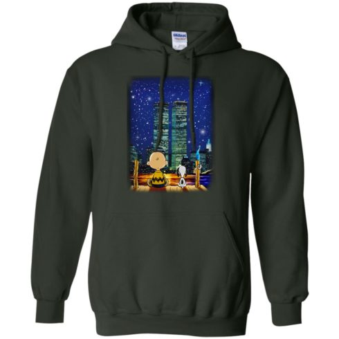 image 748 490x490px Snoopy and Charlie Brown World Trade Center 9/11 T Shirts, Hoodies, Tank