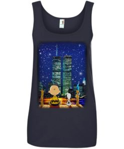 image 750 247x296px Snoopy and Charlie Brown World Trade Center 9/11 T Shirts, Hoodies, Tank