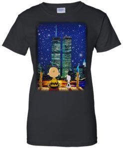 image 751 247x296px Snoopy and Charlie Brown World Trade Center 9/11 T Shirts, Hoodies, Tank