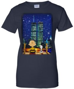 image 753 247x296px Snoopy and Charlie Brown World Trade Center 9/11 T Shirts, Hoodies, Tank