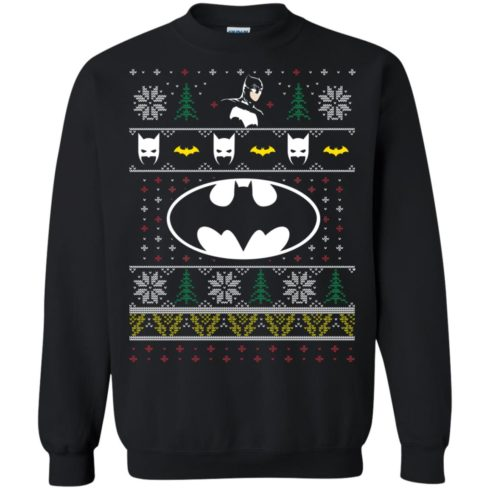 image 776 490x490px Batman Ugly Christmas Sweater