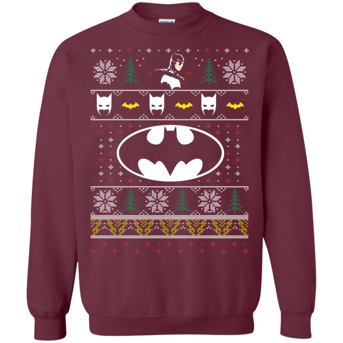 image 777px Batman Ugly Christmas Sweater
