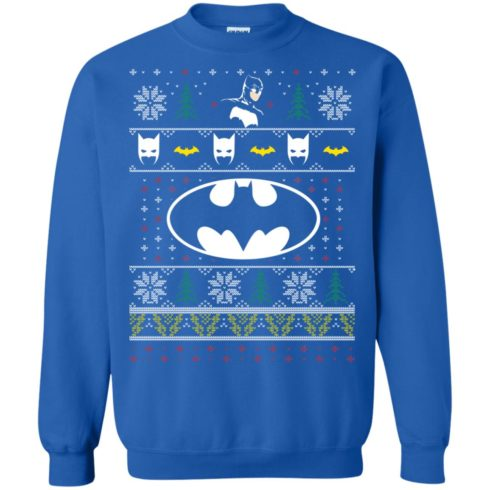 image 781 490x490px Batman Ugly Christmas Sweater