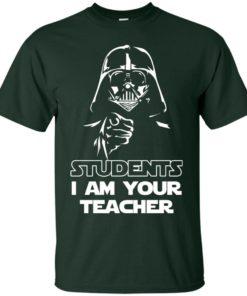 image 788 247x296px Star Wars: Students I Am Your Teacher T Shirts, Hoodies, Tank