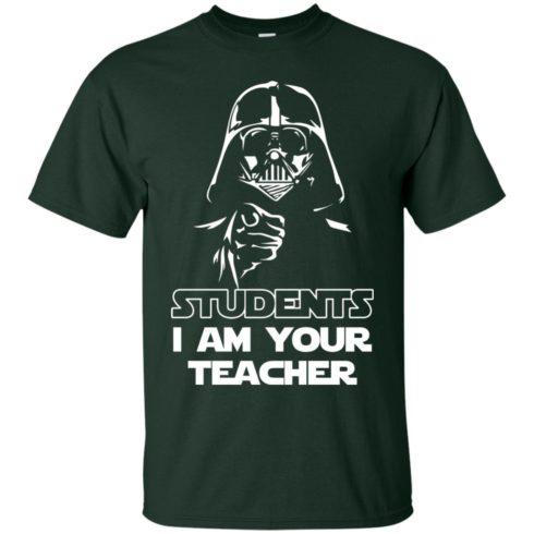 image 788 490x490px Star Wars: Students I Am Your Teacher T Shirts, Hoodies, Tank