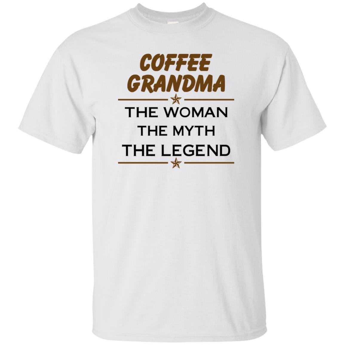 image 810px Coffee Grandma The Woman The Myth The Legend Shirt