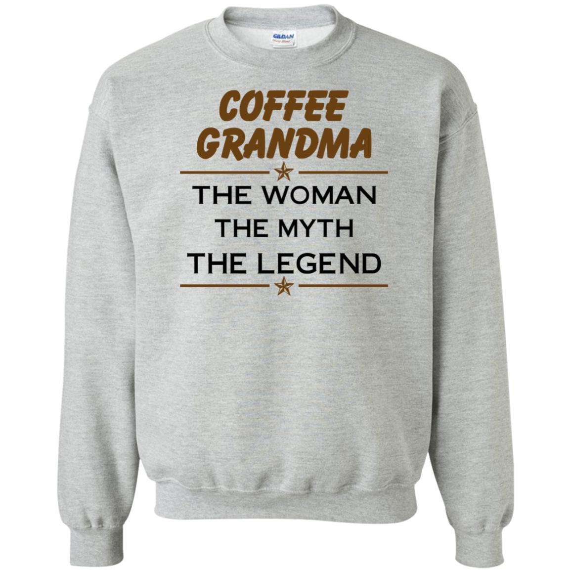 image 816px Coffee Grandma The Woman The Myth The Legend Shirt