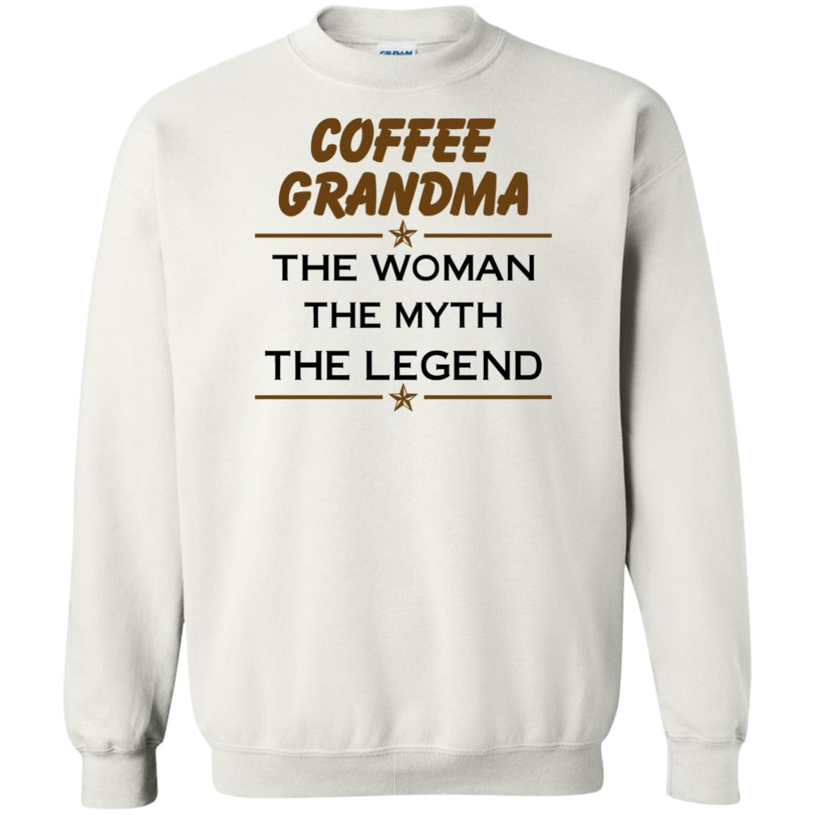 image 817px Coffee Grandma The Woman The Myth The Legend Shirt