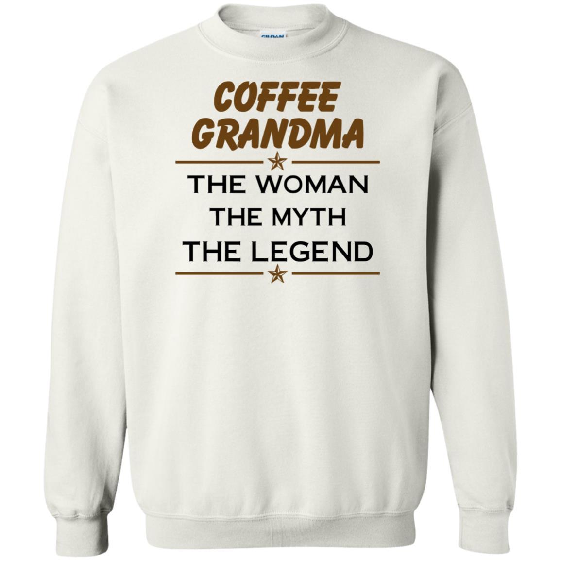 image 817px Coffee Grandma The Woman The Myth The Legend Shirt