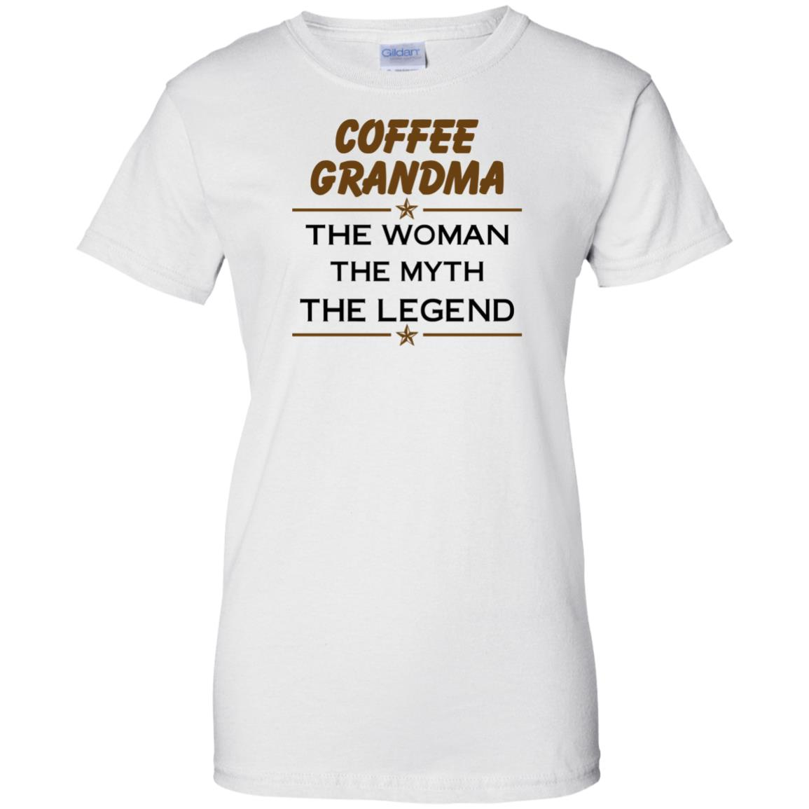image 819px Coffee Grandma The Woman The Myth The Legend Shirt