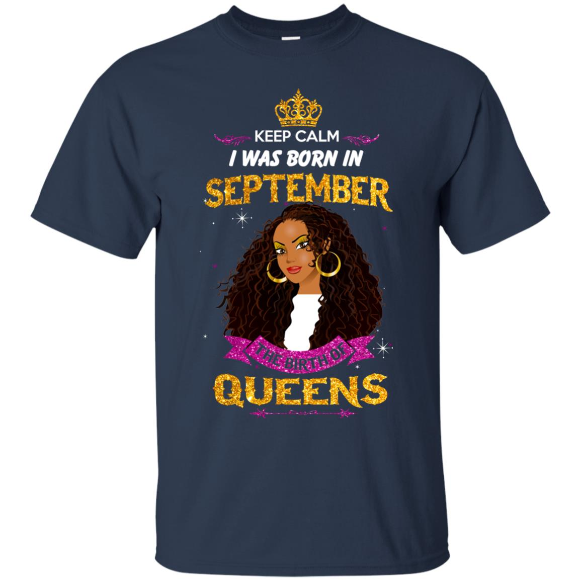image 822px Keep Calm I Was Born In September The Birth Of Queens T Shirts, Tank Top