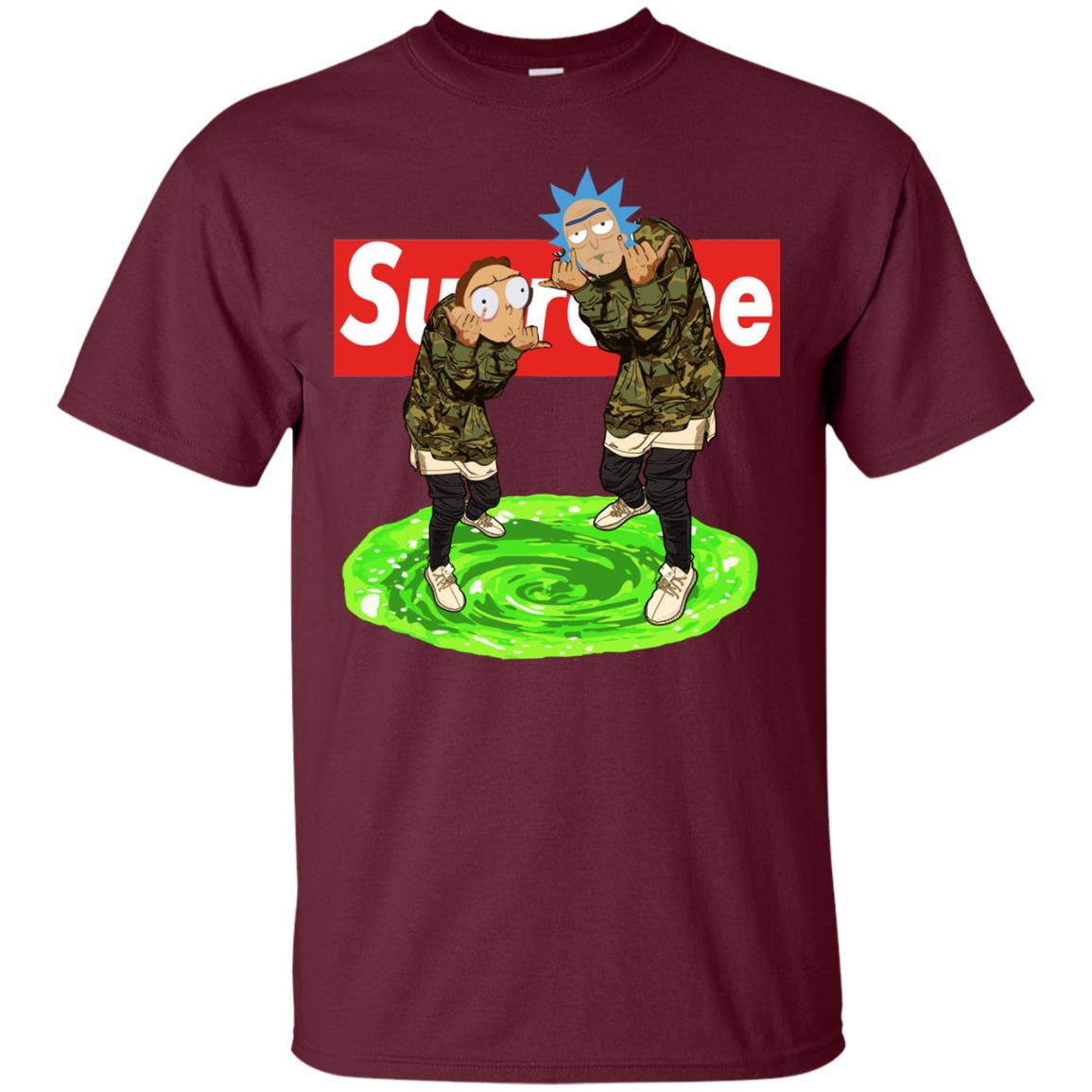 image 98px Rick and Morty Supreme T Shirts, Hoodies, Tank Top