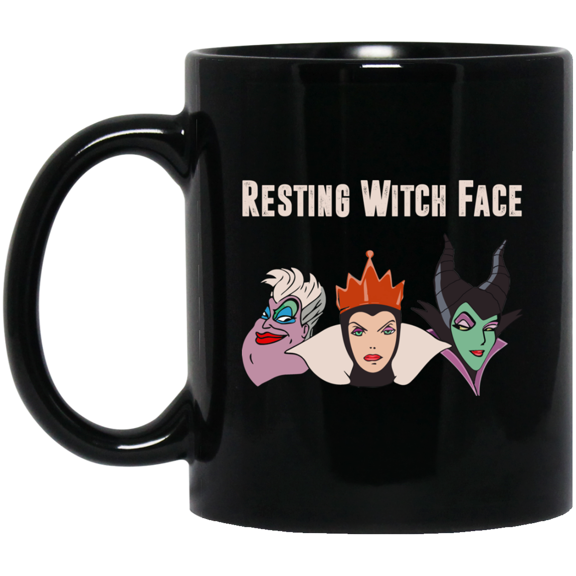 imagepx Maleficent Disney: Resting Witch Face Halloween T Shirts, Hoodies, Tank