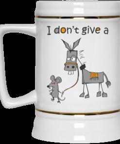 image 10 247x296px I don't give a mouse walking a donkey coffee mug