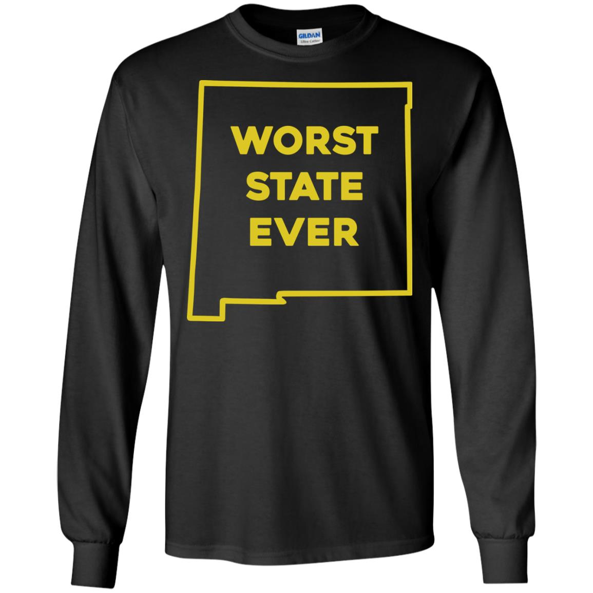 image 1001px New Mexico Worst State Ever T Shirts, Hoodies, Tank Top