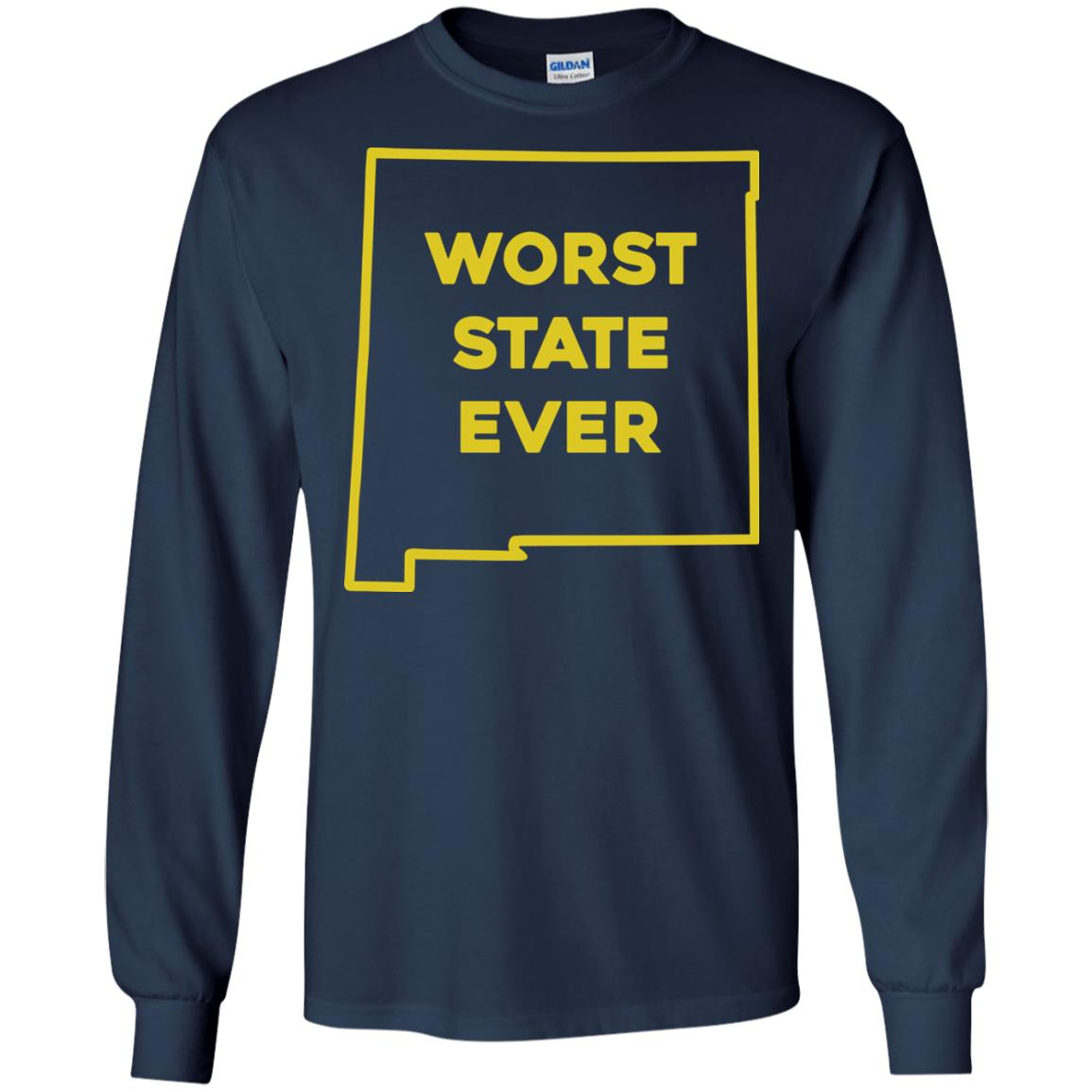 image 1002px New Mexico Worst State Ever T Shirts, Hoodies, Tank Top