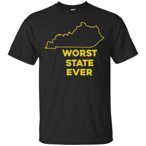 image 1009 490x490px Kentucky Worst State Ever Shirt, Hoodies, Tank