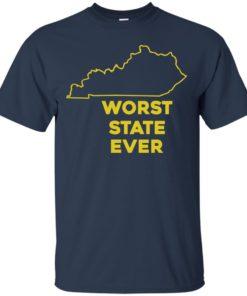 image 1010 247x296px Kentucky Worst State Ever Shirt, Hoodies, Tank
