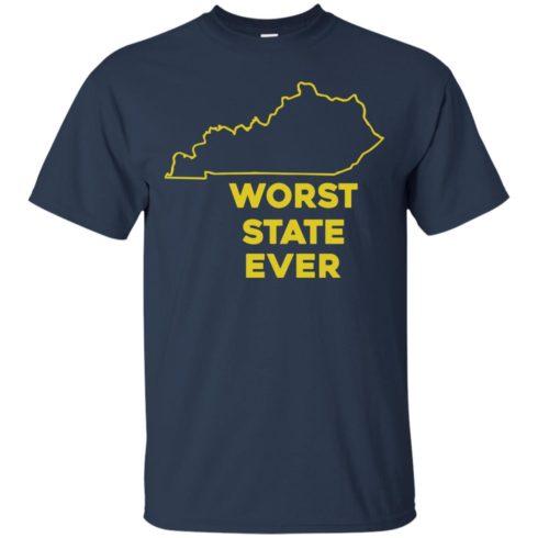 image 1010 490x490px Kentucky Worst State Ever Shirt, Hoodies, Tank
