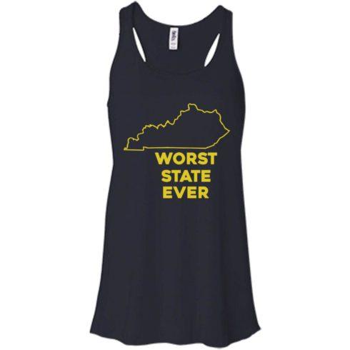 image 1012 490x490px Kentucky Worst State Ever Shirt, Hoodies, Tank
