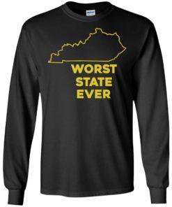 image 1013 247x296px Kentucky Worst State Ever Shirt, Hoodies, Tank
