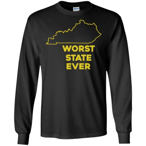 image 1013 490x490px Kentucky Worst State Ever Shirt, Hoodies, Tank