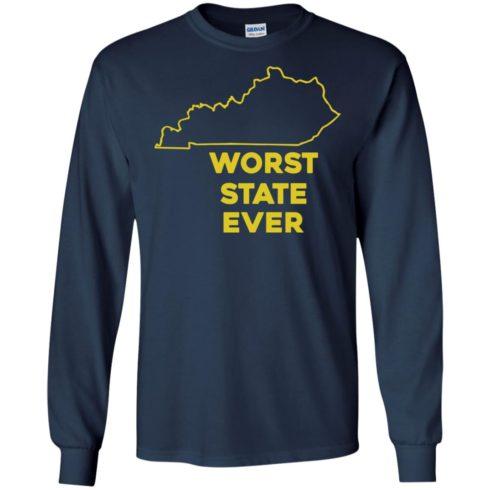 image 1014 490x490px Kentucky Worst State Ever Shirt, Hoodies, Tank