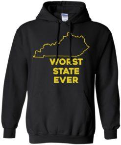 image 1015 247x296px Kentucky Worst State Ever Shirt, Hoodies, Tank