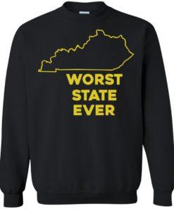 image 1017 247x296px Kentucky Worst State Ever Shirt, Hoodies, Tank