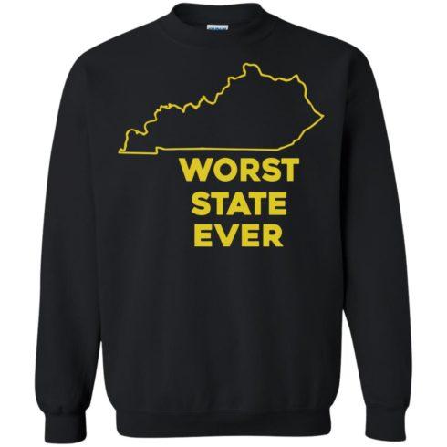 image 1017 490x490px Kentucky Worst State Ever Shirt, Hoodies, Tank