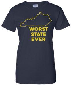 image 1020 247x296px Kentucky Worst State Ever Shirt, Hoodies, Tank