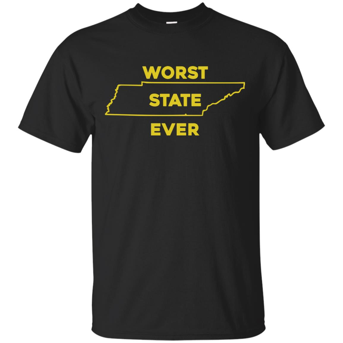 image 1021px Tennessee Worst State Ever T Shirts, Tank Top, Hoodies