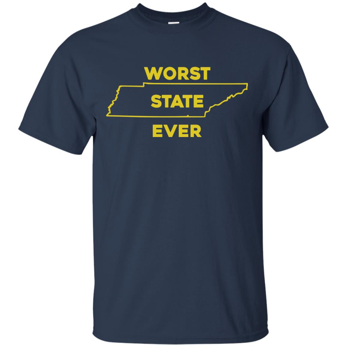 image 1022px Tennessee Worst State Ever T Shirts, Tank Top, Hoodies