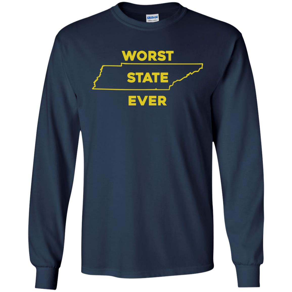 image 1026px Tennessee Worst State Ever T Shirts, Tank Top, Hoodies