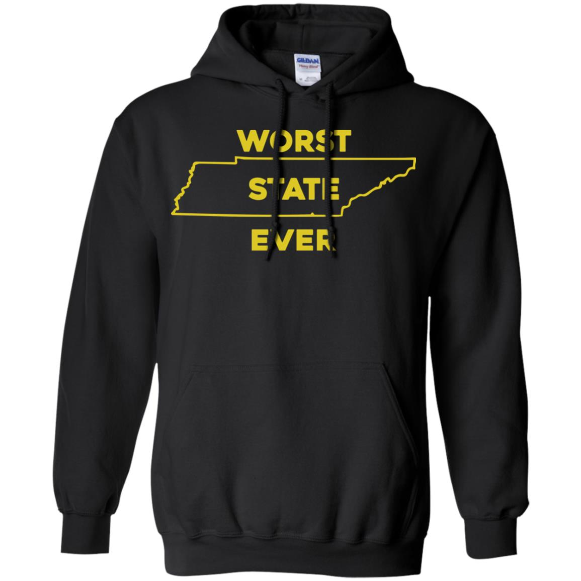 image 1027px Tennessee Worst State Ever T Shirts, Tank Top, Hoodies