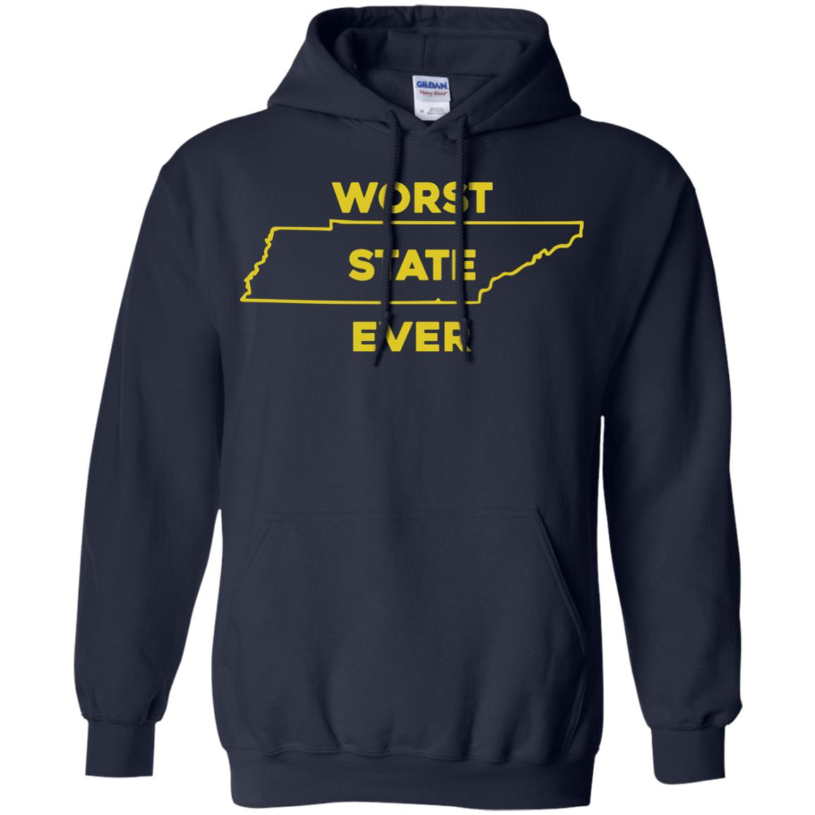 image 1028px Tennessee Worst State Ever T Shirts, Tank Top, Hoodies