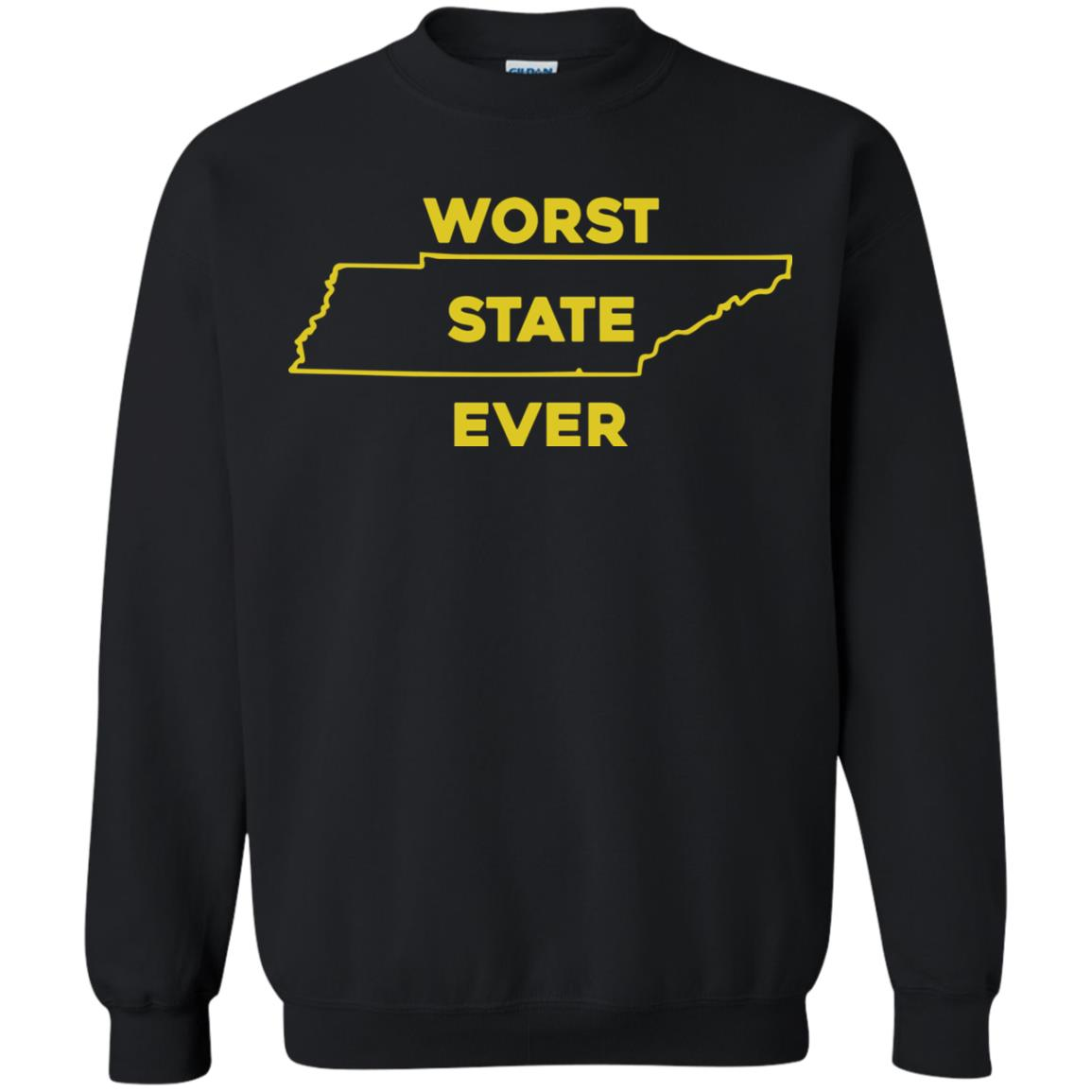 image 1029px Tennessee Worst State Ever T Shirts, Tank Top, Hoodies