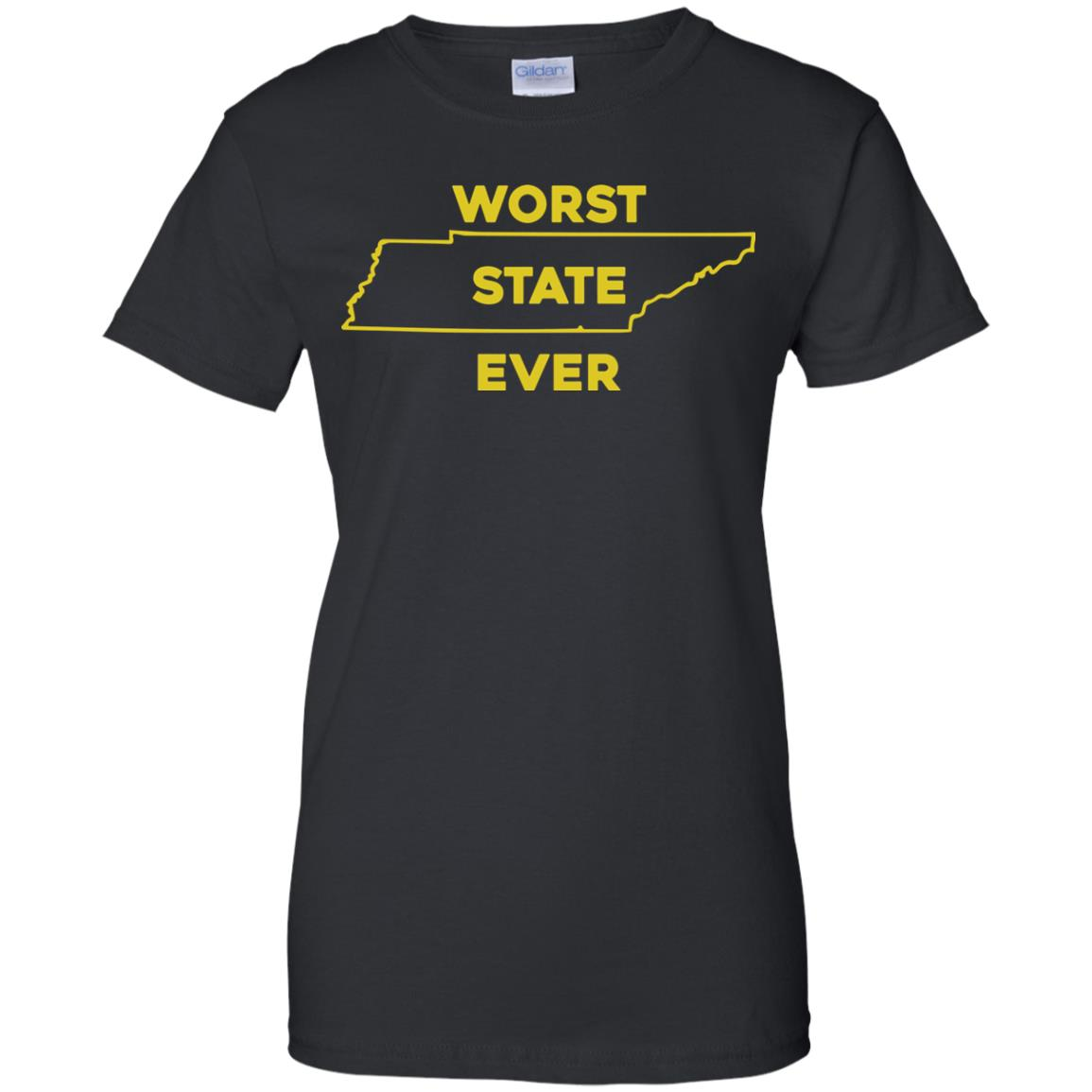 image 1031px Tennessee Worst State Ever T Shirts, Tank Top, Hoodies