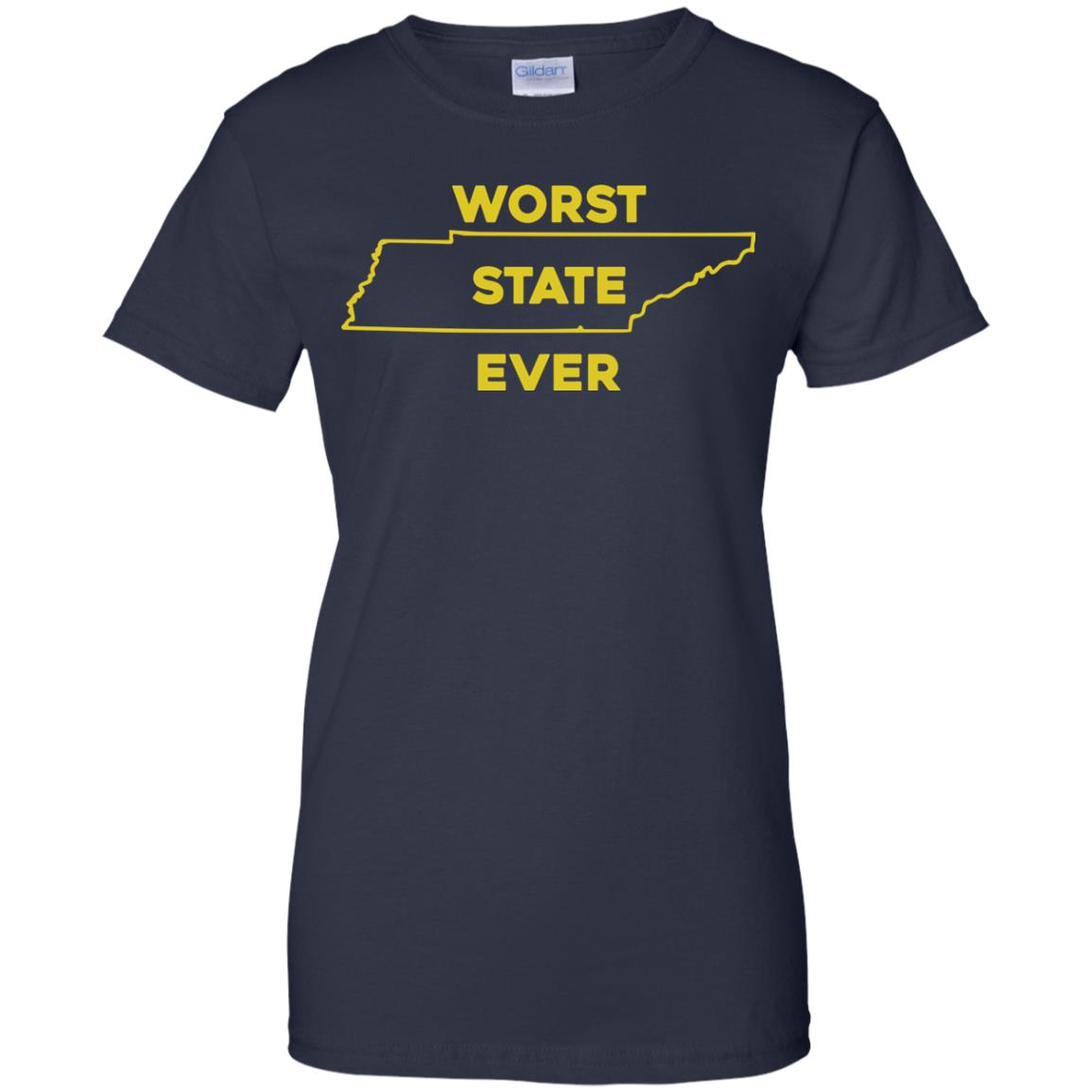 image 1032px Tennessee Worst State Ever T Shirts, Tank Top, Hoodies