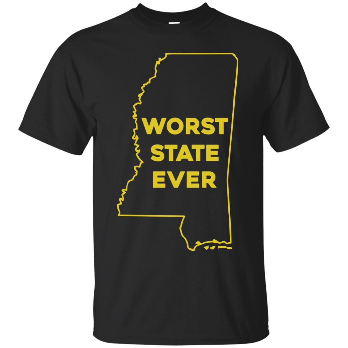 image 1033px Mississippi Worst State Ever T Shirts, Hoodies, Tank Top