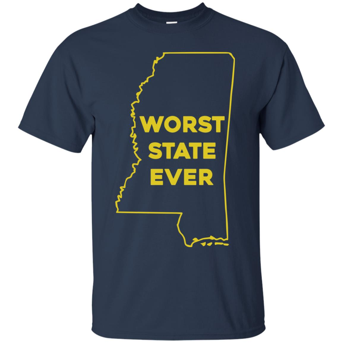 image 1034px Mississippi Worst State Ever T Shirts, Hoodies, Tank Top