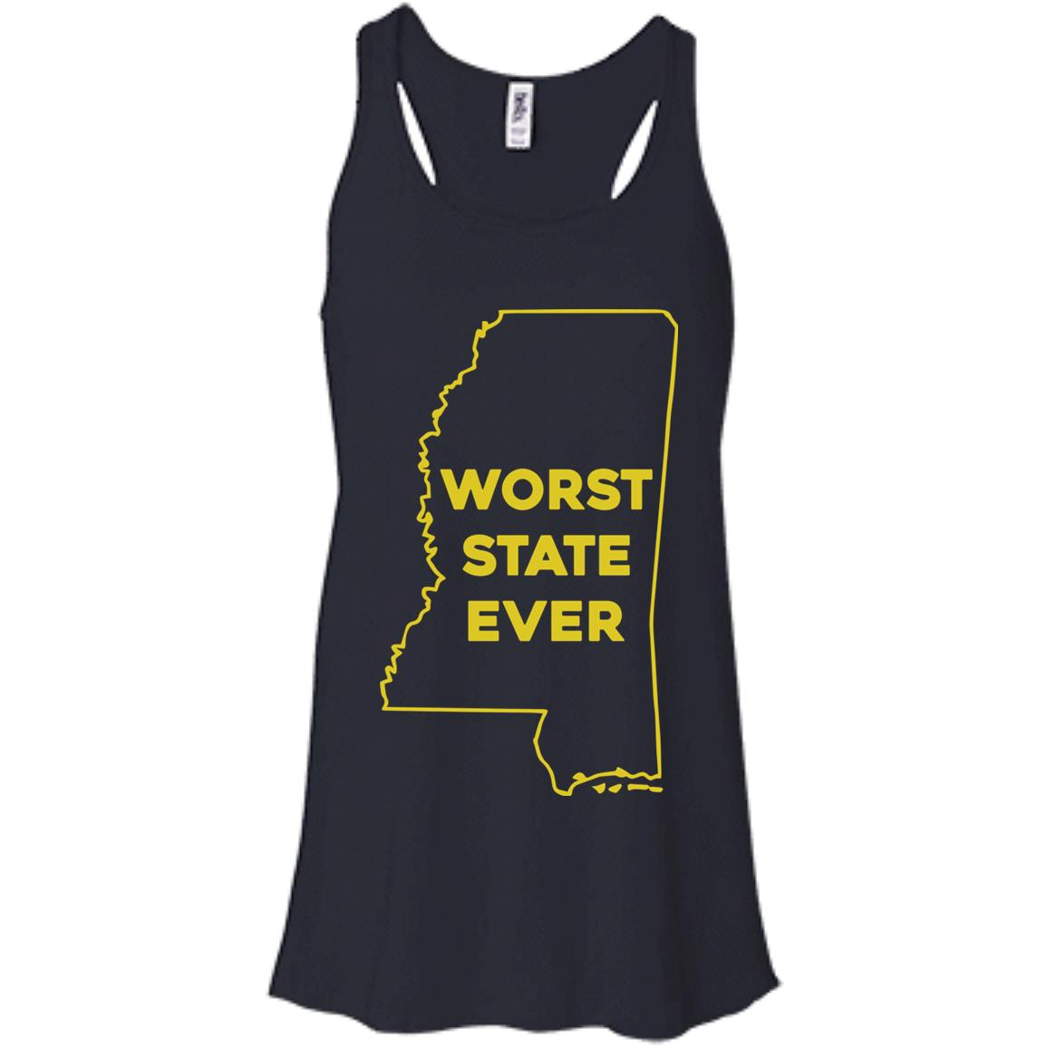 image 1036px Mississippi Worst State Ever T Shirts, Hoodies, Tank Top