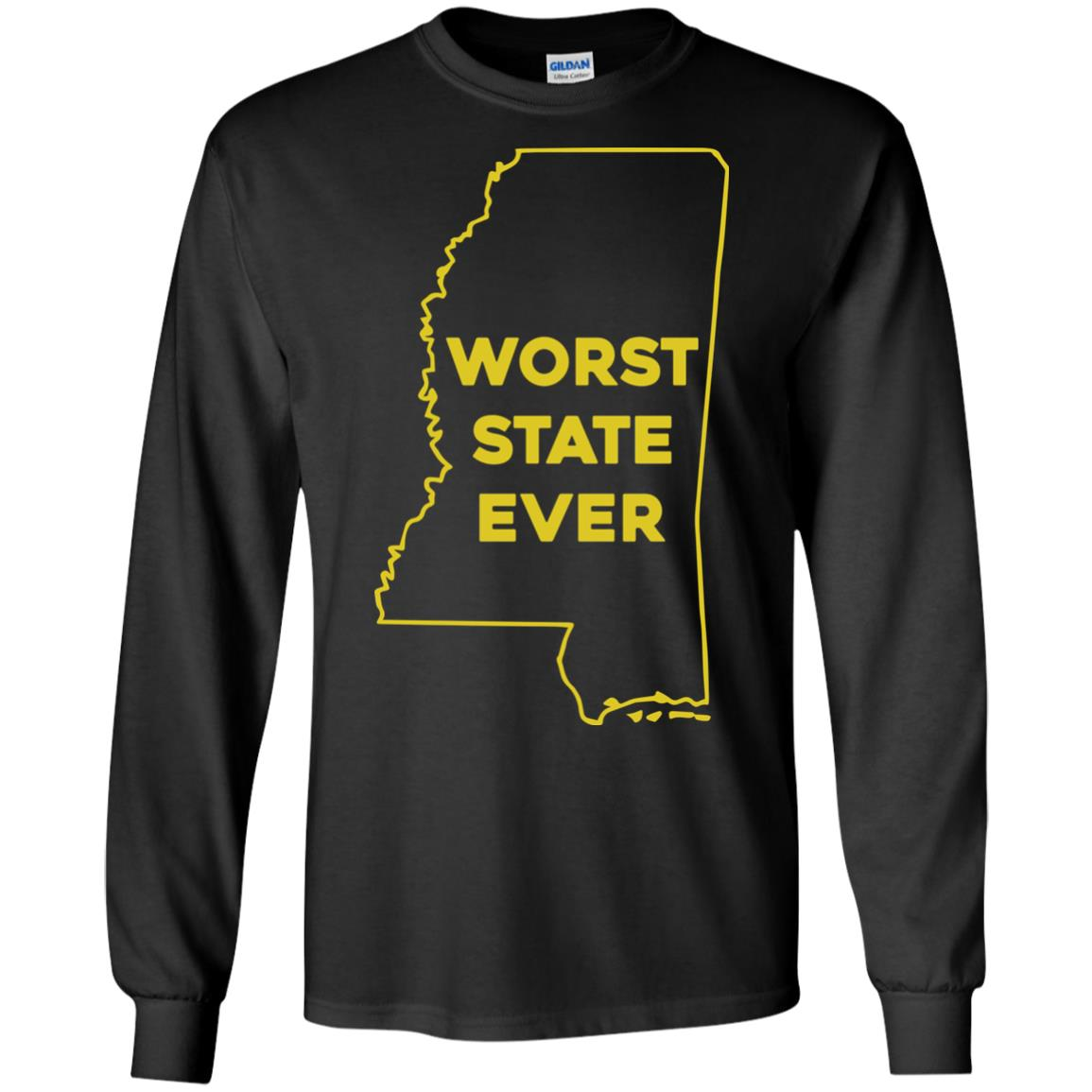image 1037px Mississippi Worst State Ever T Shirts, Hoodies, Tank Top