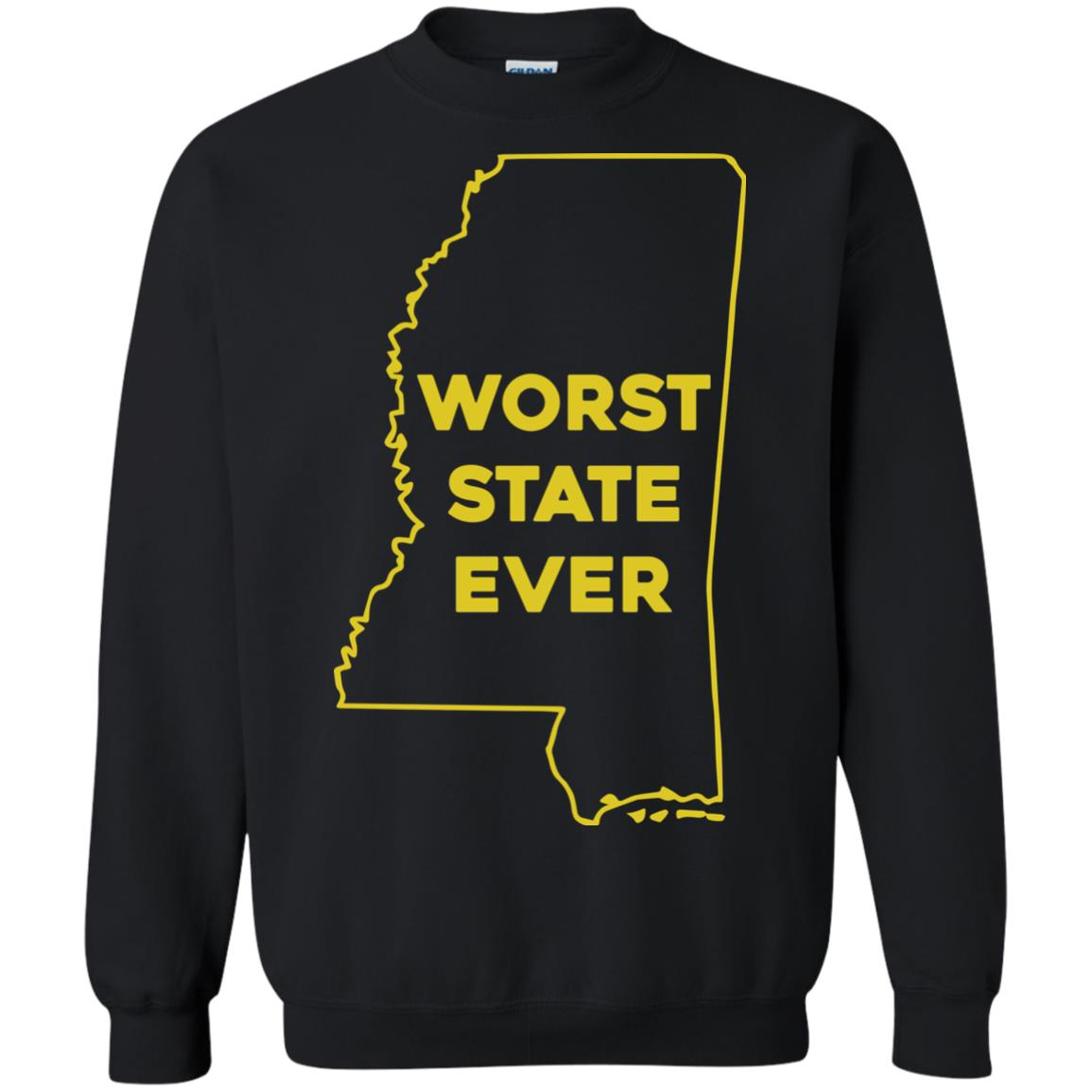 image 1041px Mississippi Worst State Ever T Shirts, Hoodies, Tank Top