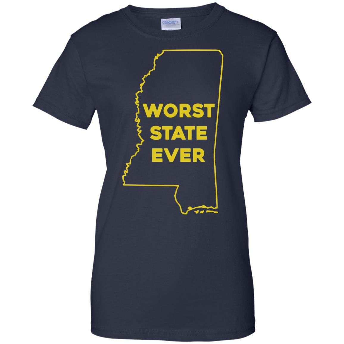 image 1044px Mississippi Worst State Ever T Shirts, Hoodies, Tank Top