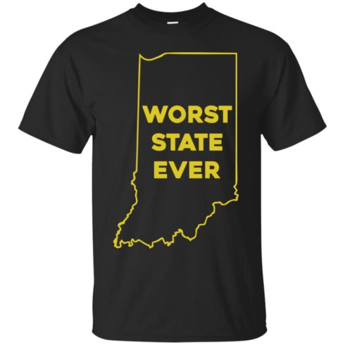 image 1045 490x490px Indiana Worst State Ever Shirt