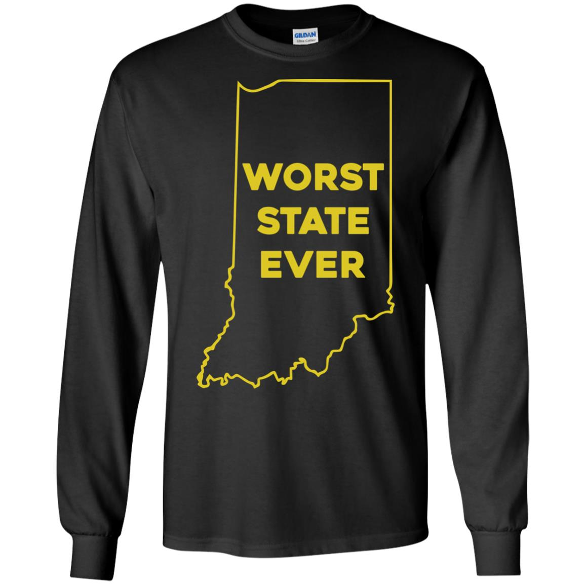 image 1049px Indiana Worst State Ever Shirt